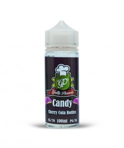 CHERRY COLA BOTTLES CANDY SHORT FILL BY GUILTY PLEASURES 100ML