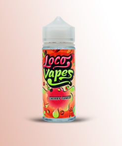 CHERRY TUNES E-LIQUID BY LOCO VAPES 100ML