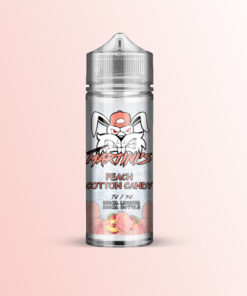 PEACH COTTON CANDY E-LIQUID BY MARTINI'S 120ML