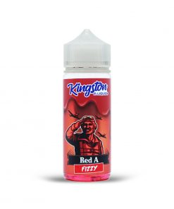 RED A FIZZY SHORT FILL BY KINGSTON 120ML
