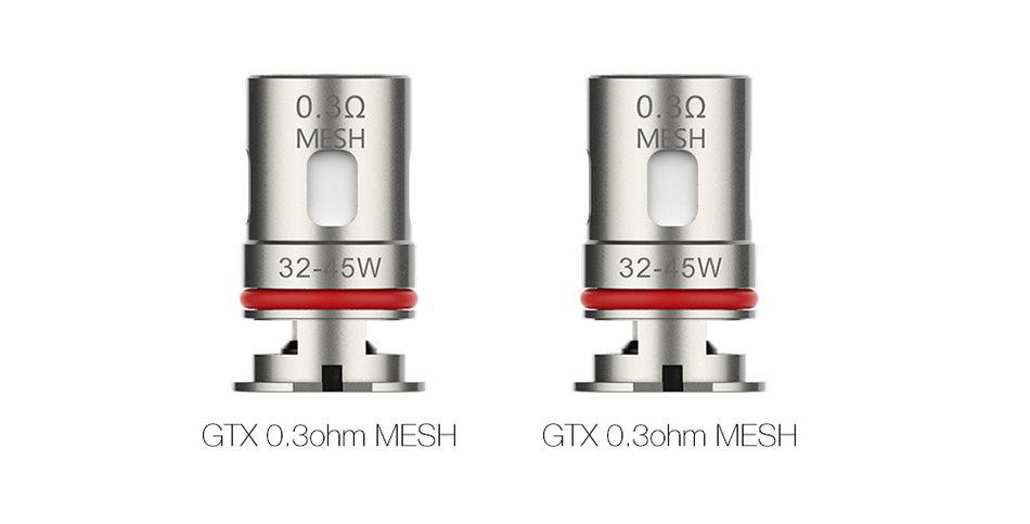 VAPORESSO GTX MESH COIL 0.3OHM – PACK OF 5
