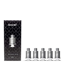 SMOK NORD CERAMIC COIL 1.4 OHM – PACK OF 5