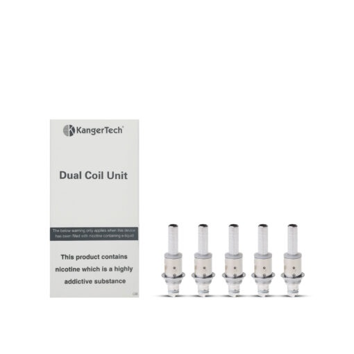 KANGERTECH DUAL COIL UNITCOIL 1.8 OHM - PACK OF 5
