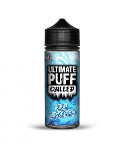 BLUE RASPBERRY CHILLED E-LIQUID BY ULTIMATE PUFF 100ML