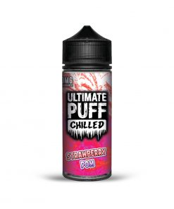 STRAWBERRY POM CHILLED E-LIQUID BY ULTIMATE PUFF 100ML