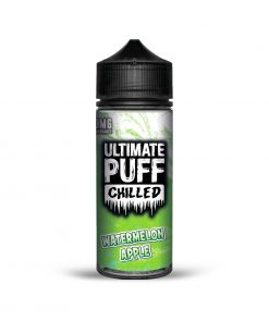 WATERMELON APPLE CHILLED E-LIQUID BY ULTIMATE PUFF 100ML