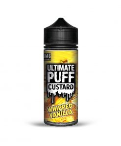 WHIPPED VANILLA CUSTARD E-LIQUID BY ULTIMATE PUFF 100ML