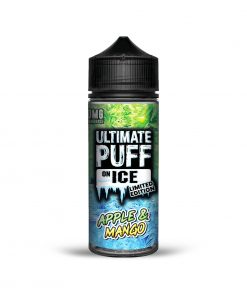 APPLE & MANGO ON ICE LIMITED EDITION E-LIQUID BY ULTIMATE PUFF 100ML