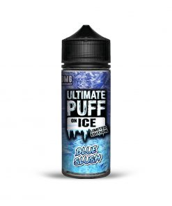 BLUE SLUSH ON ICE LIMITED EDITION E-LIQUID BY ULTIMATE PUFF 100ML