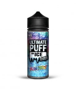 RAINBOW ON ICE LIMITED EDITION E-LIQUID BY ULTIMATE PUFF 100ML