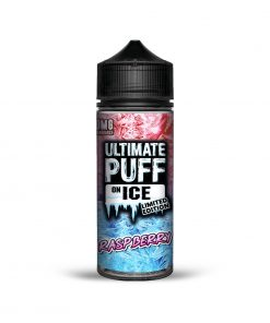 RASPBERRY ON ICE LIMITED EDITION E-LIQUID BY ULTIMATE PUFF 100ML