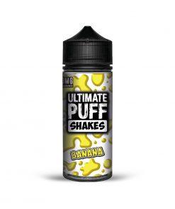 BANANA SHAKES E-LIQUID BY ULTIMATE PUFF 100ML