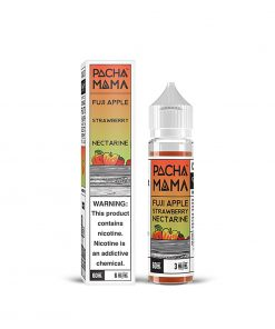 STRAWBERRY NECTARINE, FUJI APPLE E-LIQUID BY PACHA MAMA 50ML