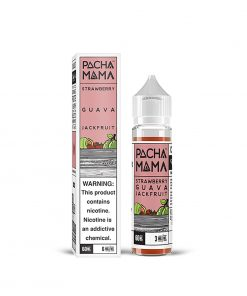 GUAVA JACKFRUIT STRAWBERRY E-LIQUID BY PACHA MAMA 50ML