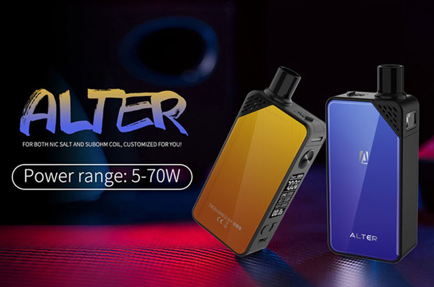 OBS Alter Pod Kit-Features